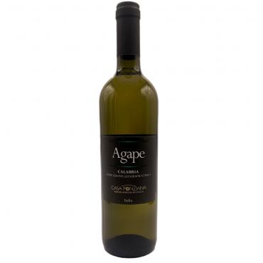 Agàpe vino bianco bio igt calabria