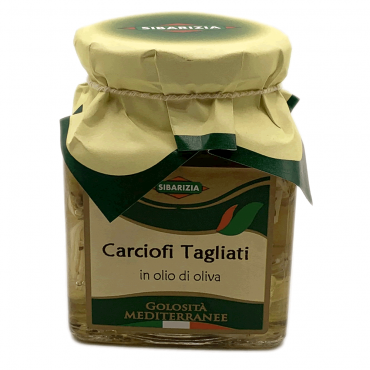 Carciofi tagliati in olio di oliva